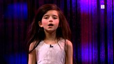 Amazing seven year old sings Fly Me To The Moon (Angelina Jordan) on Sen...