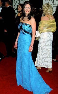 Catherine Zeta-Jones from A Colorful History of the Golden Globes 2001