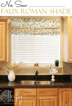 Trendy Kitchen Window Over Sink Ideas Roman Shades Ideas Window Over Sink, Kitchen Sink Window, Kitchen Redo, Kitchen Remodel, Window Ledge, Window Sill, Kitchen Ideas, Kitchen Designs, Kitchen Styling