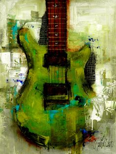 Original Painting Modern Abstract Art by SLAZO 30x40 von SlazoArt