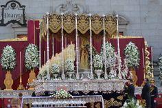 Traslado de María Stma. De la Victoria a su altar de Coronación. Fotos de Valentín López.