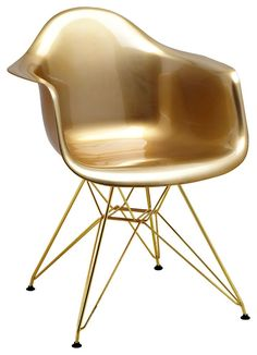 Gold Futures, Eames, Chair, Furniture, Home Decor, Decoration Home, Room Decor, Home Furnishings, Stool