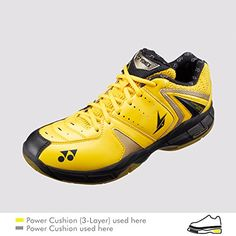 sports shoes d152a a1503 Yonex SHBSC6LDEX Yellow Lin Dan Edition Badminton Shoes 7 M US  Want to  know