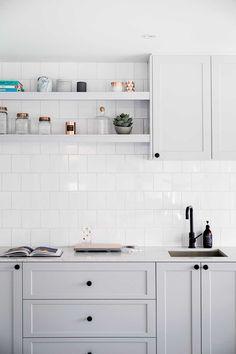 Hamptons style kitchen | Home Beautiful Magazine Australia