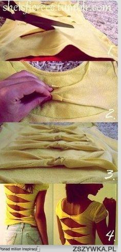 Back bows shirt