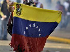 Protesta en las calles de Venezuela