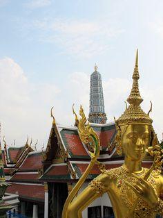 Grand Palace.  Bangkok, Thailand