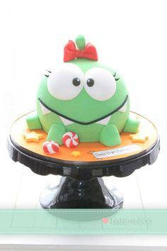 Cute cake..Cut the Rope!