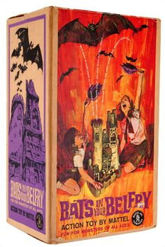 Bats In Your Belfry game By Mattel. Halloween Board Game, Halloween Games, Old Board Games, Vintage Board Games, Retro Toys, Vintage Toys, Gi Joe, Creepy Toys, Monster Toys