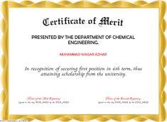 Merit Certificate Sample Certificate Of Service Template Download  Ideaa  Pinterest .