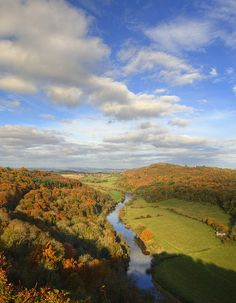 River Wye, from Yat Rock, Herefordshire, England