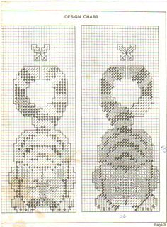 Cat Door Hangers Pg. 3/3 Plastic Canvas Tissue Boxes, Plastic Canvas Crafts, Plastic Canvas Patterns, Cross Stitching, Cross Stitch Embroidery, Cross Stitch Patterns, Canvas Door Hanger, Needlepoint Stitches, Sewing Art
