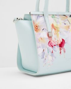 9107f2542bf93e Hanging Gardens leather tote bag - Mint