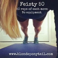 Tons of at home crossfit workouts: Feisty 50 at Home CrossFit Workout everything-beauty