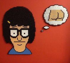 #Tina_Belcher #Bobs_Burgers by honey.beads