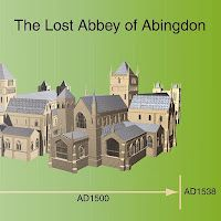 mostly books blog: The Lost Abbey of Abingdon - a little gem of a book which brings together all the latest understanding on the Abbey, the first to be dissolved under Henry VIII - but did its architecture influence Frank Lloyd Wright?