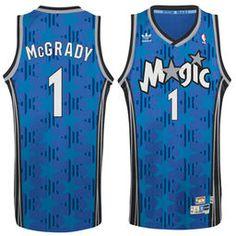 f21b56f230dec6 Men's Orlando Magic Tracy McGrady adidas Blue Hardwood Classic Swingman  Jersey Tracy Mcgrady, Blue Adidas