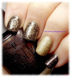 #opi My Private Jet & Honey Ryder #stamped with Love.Angel.Music.Baby & #moyoulondon Mandala - 09
