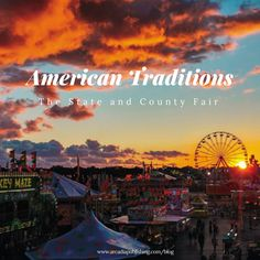 We all love them, but do you know where the county and state fair actually came from? | Arcadia Publishing