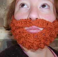 Burly Beard and Mustache- Preteen-Adult - via @Craftsy