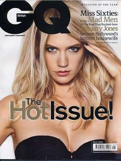 Hot Housewife Covers: January Jones Heats Up British GQ