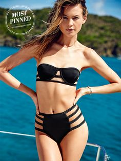 If strappy is the new black… guess this bikini is the new everything. | Victoria's Secret Strappy Bandeau