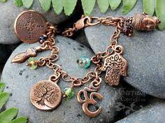 stretch crystal glass bead religious bracelet hamsas - Buscar con Google