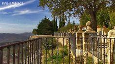 """Las hermosas avenidas ajardinadas desembocan en varios balcones, desde donde se puede contemplar la Hoya del Tajo y la Serranía de Ronda. Bajo estos miradores se encuentra la formación geológica conocida como """"Asa de la Caldera"""". No podrás irte del lugar sin haber visitado antes el llamado 'Balcón del Coño', que aunque suene a broma, recibe su nombre de la expresión de muchos al asomarse, debido a la impresión por su gran altura."""