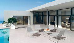 Une terrasse résolument design