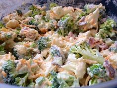 Fitness Journey: Amish Broccoli/cauliflower Salad