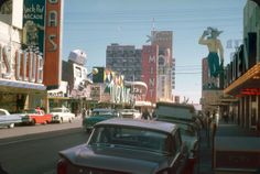 Vintage Vegas | 1961 Fremont St., Las Vegas | 35mm Kodachrome Slide