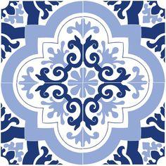 Etsy - Azulejo Tile stencil