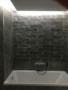 Bathroom grey stone