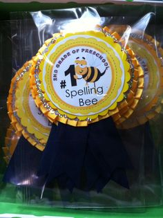 Spelling bee Spelling Bee, Spelling Words, English Festivals, Bee Activities, Teachers Room, School Kit, Bee Party, Teaching Aids, Bee Theme
