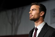 Theo James grew up in Oxfordshire and trained at Bristol Old Vic. Picture: Getty
