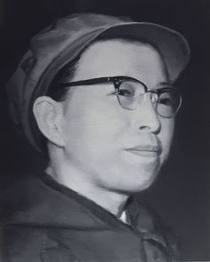 2005-2012 (series) 'CHINESE HISTORICAL FIGURES 1966-1976 -- artist Xu Weixin (徐唯辛; b1958, Urumqi, Xinijiang Proovince, China)