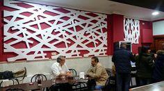 interiorismo comercial - celosía - interiorismo - restaurante