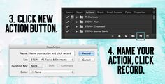 How to make an action