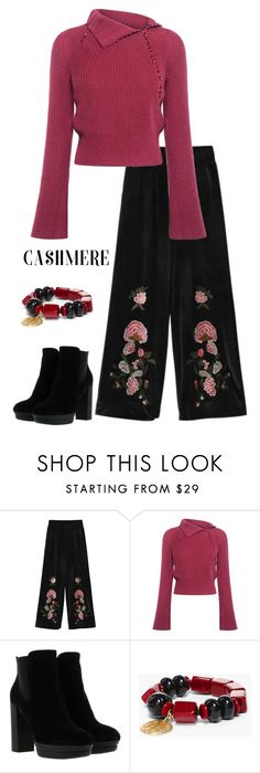 """""""Cashmere  Sweaters"""" by patricia-dimmick on Polyvore featuring 10 Crosby Derek Lam, Hogan, Chico's and cashmere"""
