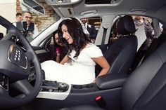 bride's wedding gift was a new car!   www.experiencespecialist.com