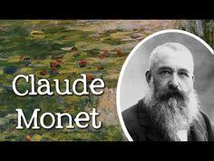 Biography of Claude Monet: Famous Artists for Children - FreeSchool - YouTube