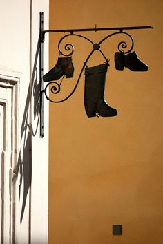 Old Shop Sign (Luxembourg) by runintherain, via Flickr