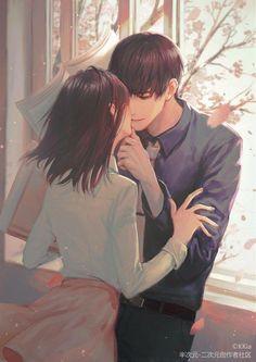 Pin de ngọc san en ngôn tình en 2019 parejas de anime, anime love y persona Manga Couple, Anime Love Couple, Anime Couples Manga, Cute Anime Couples, Couple Art, Manga Anime, I Love Anime, Manga Girl, Manga Romance