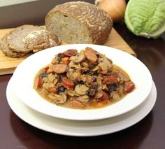 Amazing Polish Bigos Recipe -- Hunter's Stew. From Polska Foods. http://www.polskafoods.com/polish-recipes/best-polish-bigos-recipe