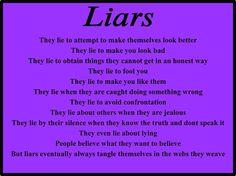 Why liars lie