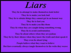 narcissistic sociopaths are liars