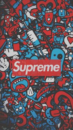 Supreme wallpaper collection for mobile Graffiti Wallpaper Iphone, Pop Art Wallpaper, Trippy Wallpaper, Iphone Background Wallpaper, Galaxy Wallpaper, Cartoon Wallpaper, Mobile Wallpaper, Background Images, Supreme Wallpaper Hd