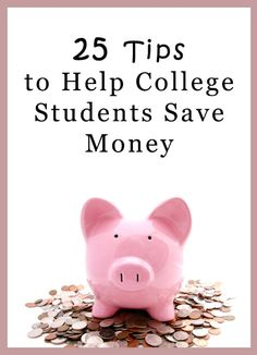 Great tips on how to save money in college!