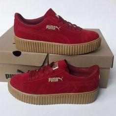Puma Fenty Kırmızı Süet Spor Ayakkabı WhatsApp Bilgi Hattı ve Sipariş : 0 (541) 2244 541 www.renkliayaklar.net