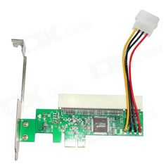 WBTUO LPE1083 PCI-Express to PCI Adapter Card - Green. Product Description: This product may be PCI-E interface converter on the computer as a separate 32-bit PCI interface. Able to solve the lack of PCI slot on the motherboard problem, PCI-Express X1/X4/X8/X16 apply, you can use this product to your PCI devices continue to play a role. Features: 1, 1 Lane PCI Express port (a virtual channel). 2, Supports PCI 32-bit 33MHz bus one slot 3, PCI Express Specification Version 1.0 compliant 4, PCI…